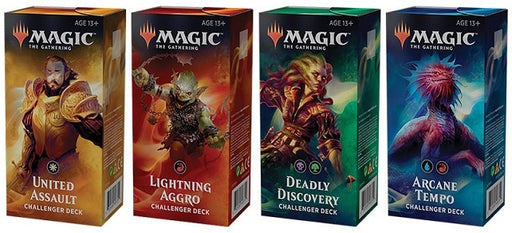 Challenger Deck 2019 Set of 4