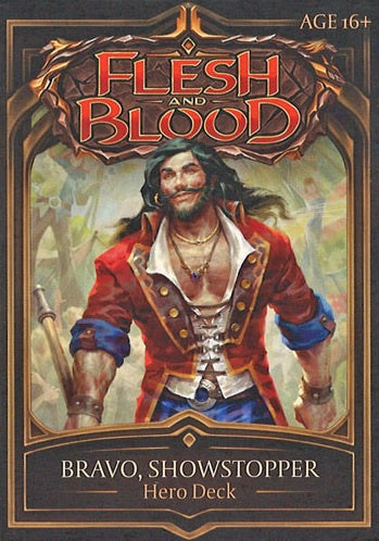 Flesh and Blood TCG Welcome to Rathe Hero Deck Bravo, Showstopper (Guardian)