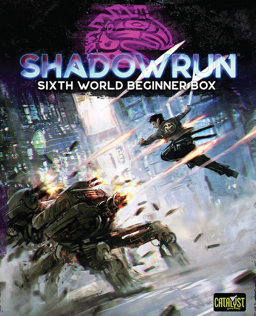 Shadowrun 6th Edition Beginner Box