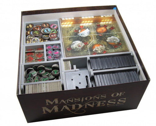 Folded Space Game Inserts Mansions of Madness Second Edition