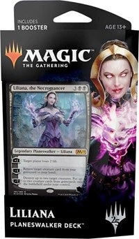 Magic the Gathering: Core Set 2019 Planeswalker Deck Liliana