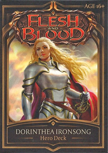 Flesh and Blood TCG Welcome to Rathe Hero Deck Dorinthea Ironsong (Warrior)