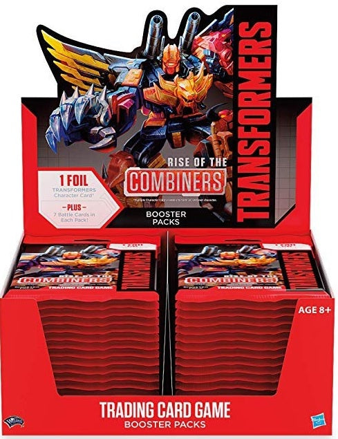 Transformers TCG Rise of the Combiners Booster Display