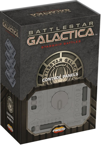 Battlestar Galactica Starship Battles Accessory Pack Set of Additional Control Panels