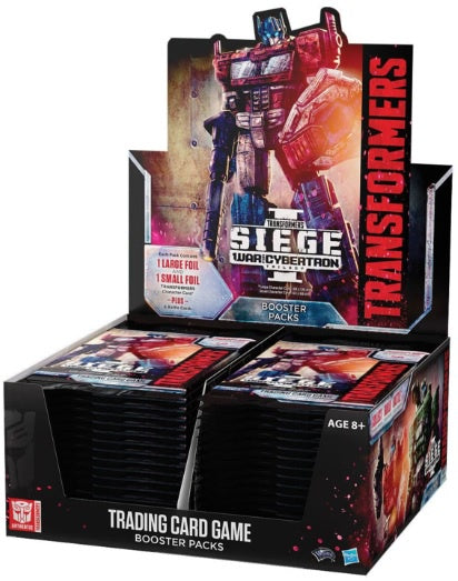 Transformers TCG War for Cybertron Siege Booster Display