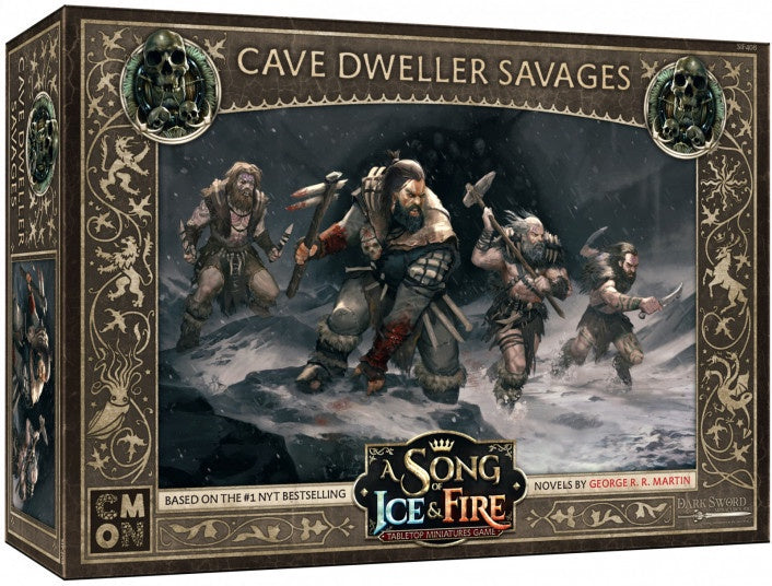 A Song of Ice and Fire TMG  Cave Dweller Savages