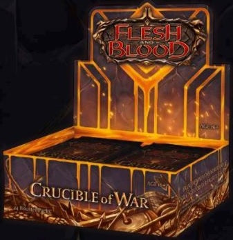 Flesh and Blood TCG Crucible of War Booster Display (24)