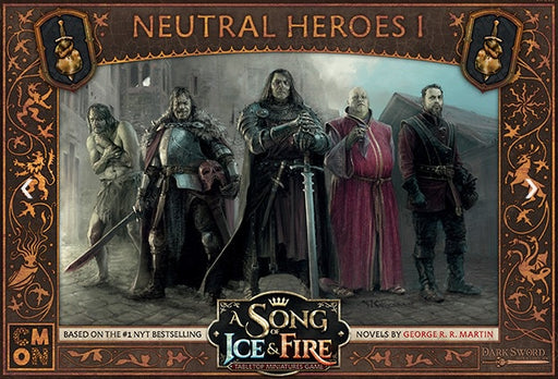 A Song of Ice and Fire TMG Neutral Heroes