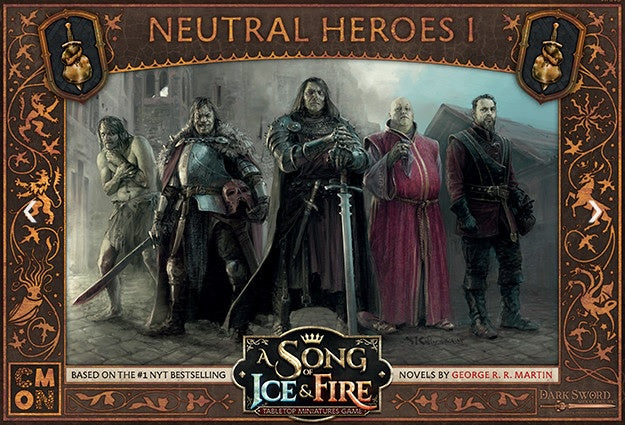 A Song of Ice and Fire TMG Neutral Heroes Pre-Order