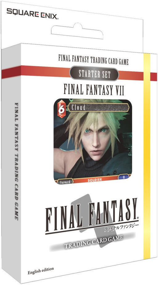 Final Fantasy Trading Card Game Starter Set Final Fantasy 7