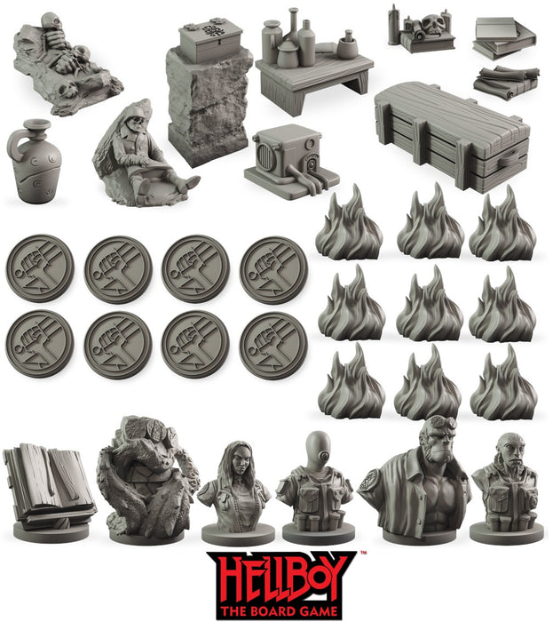 Hellboy The Board Game Counter Upgrade Set