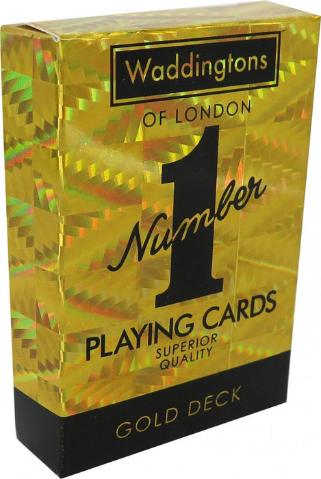 Waddingtons Playing Cards Gold Edition