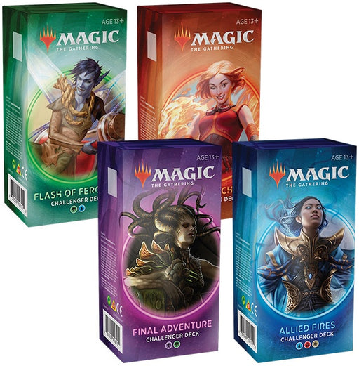 Magic Challenger Deck 2020 Set of 4