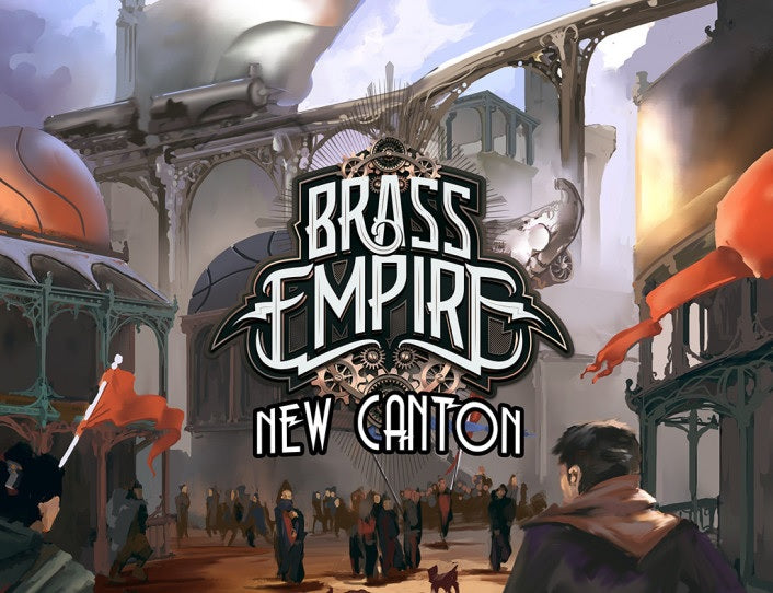 Brass Empire New Canton Expansion