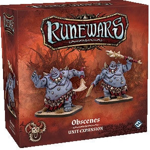 Runewars Miniatures Game: Obscenes Unit