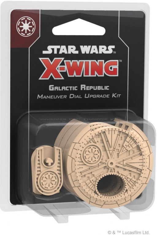 Star Wars X-Wing 2nd Edition Galactic Republic Maneuver Dial Upgrade Kit