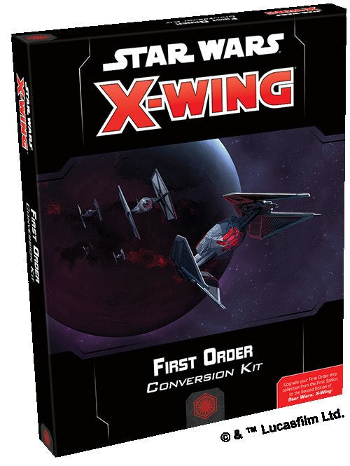 Star Wars X-Wing First Order Conversion Kit 2nd Edition Pre-Order