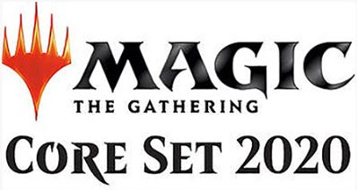 Magic the Gathering: Core Set 2020 Theme Booster Set Of 5