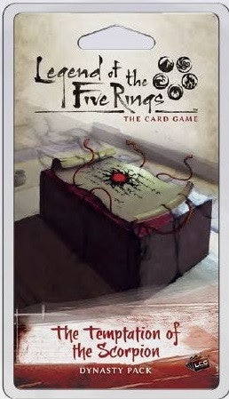 Legend of the Five Rings LCG The Temptation of the Scorpion