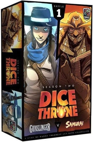 Dice Throne Season 2 Battle Box 1 Gunslinger vs Samurai