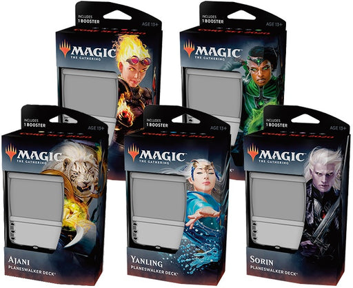 Magic the Gathering: Core Set 2020 Planeswalker Deck - Set of 5