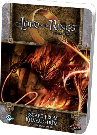 Lord of the Rings LCG Escape from Khazad-dum Custom Scenario Kit