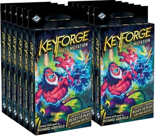 KeyForge Mass Mutation Archon Deck Display (12)