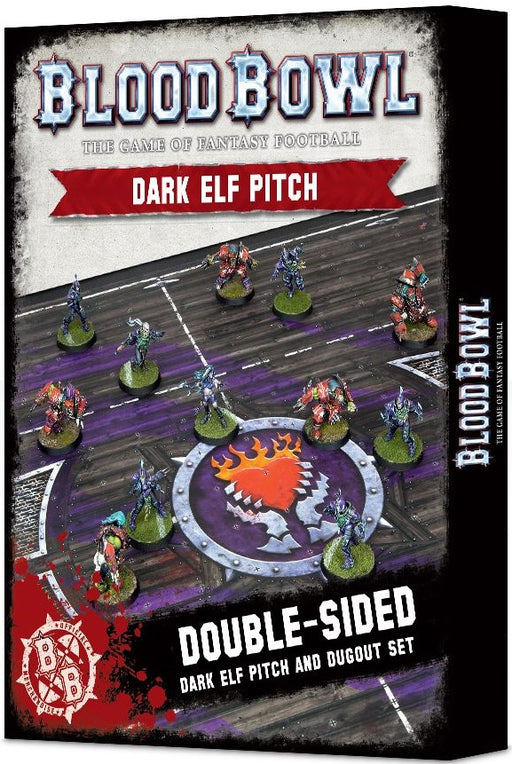 Blood Bowl: Dark Elf Pitch & Dugout