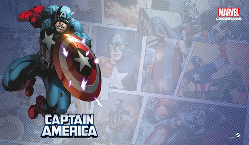 Marvel Champions LCG Captain America Game Mat