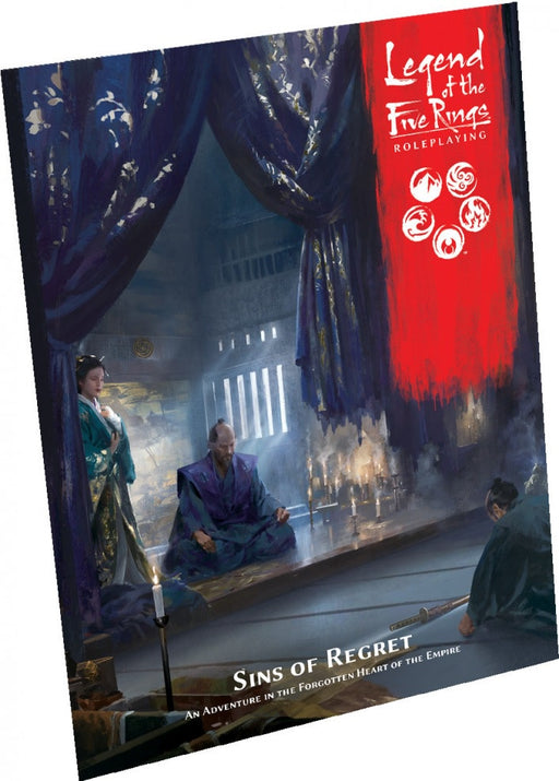Legend of Five Rings RPG Sins of Regret Adventure Book