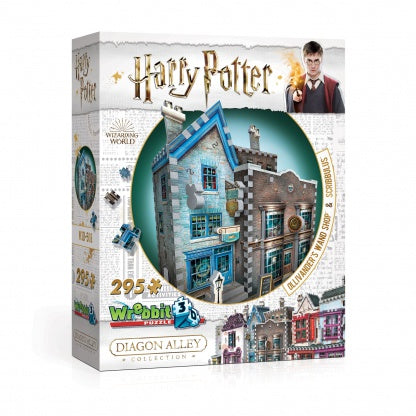 Harry Potter Diagon Alley Collection Ollivander's Wand Shop and Scribbulus