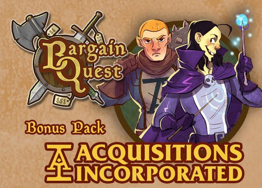 Bargain Quest Bonus Pack Acquisitions Incorporated