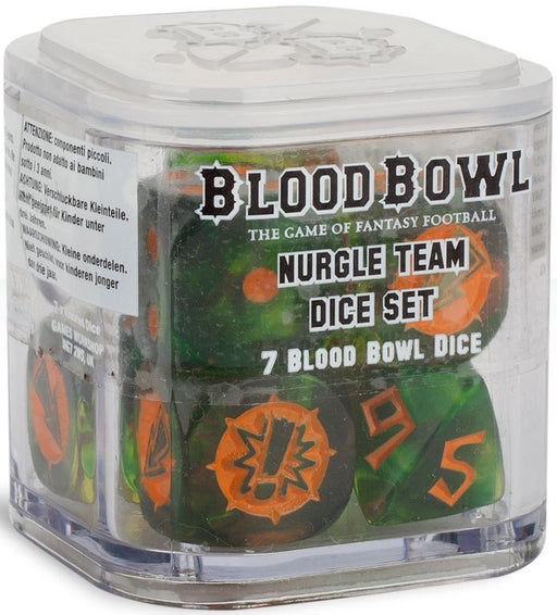 Blood Bowl: Nurgle Team Dice Set
