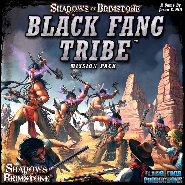 Shadows of Brimstone: Black Fang Tribe Mission Pack