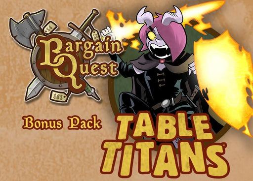 Bargain Quest Bonus Pack Table Titans
