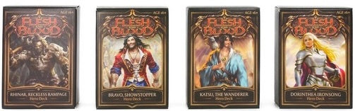 Flesh and Blood TCG Welcome to Rathe Hero Deck Set of 4