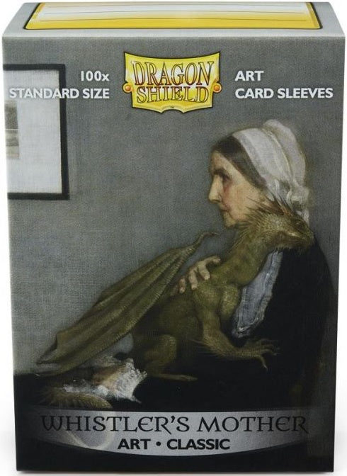 Dragon Shield Box 100 Count Art Classic Whistlers Mother