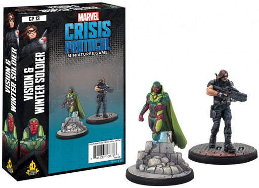 Marvel Crisis Protocol Vision and Winter Soldier Character Pack