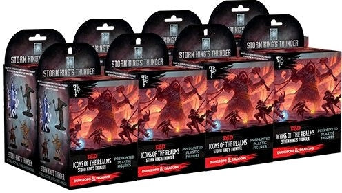 D&D Icons of the Realms Storm Kings Thunder Set 5 Booster Brick
