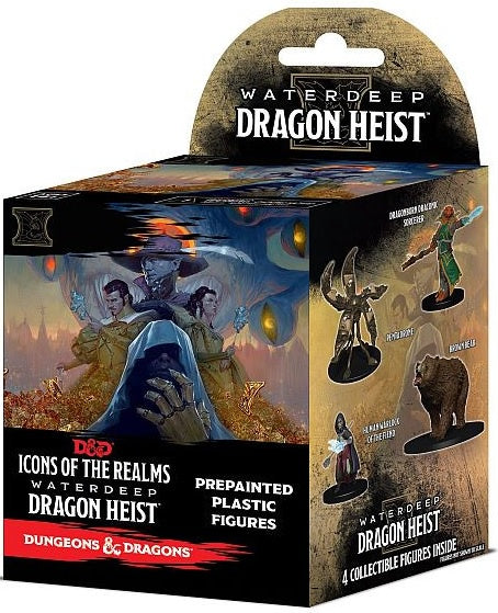 D&D Icons of the Realms Waterdeep Dragon Heist Set 9 Booster