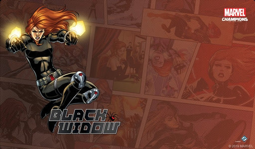 Marvel Champions LCG Black Widow Game Mat