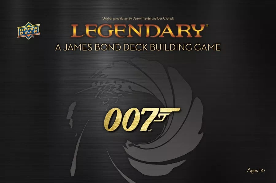 Legendary A James Bond Deck Building Game