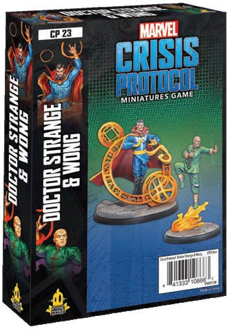 Marvel Crisis Protocol Doctor Strange and Wong