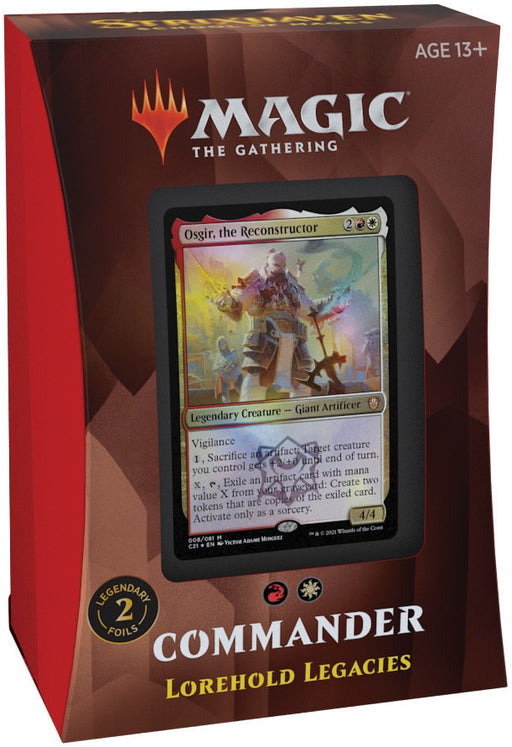 Magic the Gathering Strixhaven School of Mages Commander Deck Lorehold Legacie Pre Orders