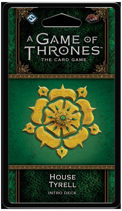 A Game of Thrones: The Card Game (Second Edition) House Tyrell Intro Deck
