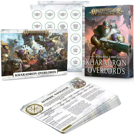 Age of Sigmar Warscroll Cards: Kharadron Overlords