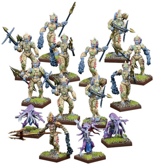 Kings of War Vanguard: Trident Realm Warband Set