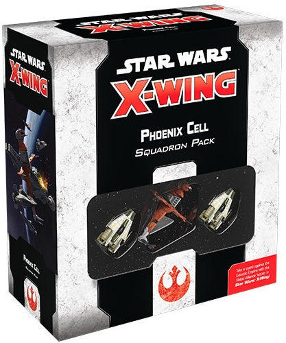 Star Wars X-Wing 2nd Edition Phoenix Cell Squadron Pack