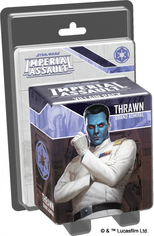 Star Wars: Imperial Assault Thrawn Grand Admiral Vilain Pack