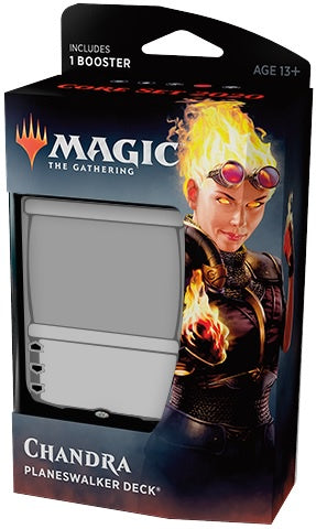 Magic the Gathering: Core Set 2020 Planeswalker Deck - Chandra